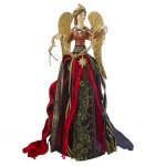 Multicolor Angel Tree Topper - 13.5""