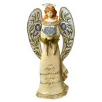 "15"" Miracles Angel Grandmother Figurine"