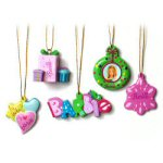 "2"" Mini Barbie Ornaments - set of 5"