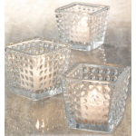 Hobnail Votive Candleholder - Set of 6