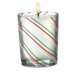 Candy Cane Votive Holder