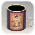 Fiddlestix & Linda Spivey Nativity Candle Warmer