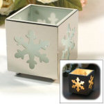 Snowflake Tealight Candle Holder