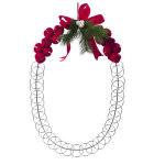 Jingle Bell Wreath Cardholder-25""