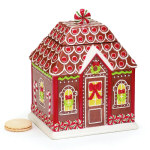 Gingerbread House Cookie Jar - 9.75""