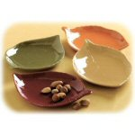 Harvest Leaf Appetizer Plates - Set of 4