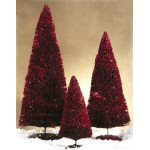 "11.5"" Red Sparkle Tree"