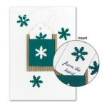 "8"" Handmade Snowflake Holiday Cards - Set of 10"