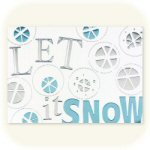 Let it Snow Holiday Cards - pkg. of 18