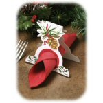 O'Tannenbaum Napkin Ring Placecard - pkg. of 20