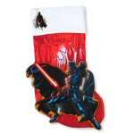 "19"" Star Wars Appliqué Darth Vader Stocking"