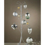 "27"" Silver Christmas Ornament Tree"