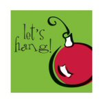 Ornament Lunch Napkins - pkg. of 16