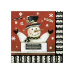 Winter Wonderland Paper Cocktail Napkins-Pkg of 20