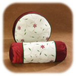 Poinsettia Pillows - Set of 2