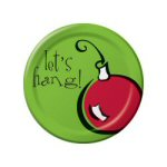 Ornament Lunch Plates - Set of 8