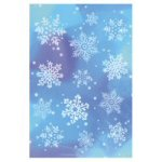Glitter Snowflake Stickers - Set of 4 Sheets