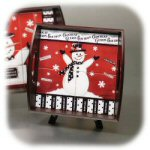 "14.75"" Winter Wonderland Square Serving Tray"