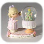 "3 5/8"" Precious Moments - May Your Days Snow Globe"