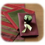 Serafina Cloth Napkin in Plum