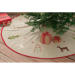 "60"" Woodland Christmas Tree Skirt"