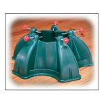 "19"" Five-Sided Green Christmas Tree Stand"