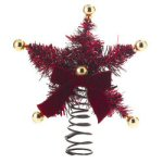 "11"" Red Star Tree Topper"