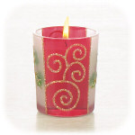 Hollies & Berries Votive Holder