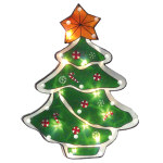 Christmas Tree Window Decoration - 14""