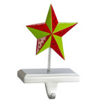 Beaded Star Stocking Hanger- 8""