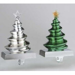 "Christmas Tree Stocking Holders 8"" - set of 2"