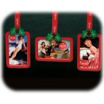"4.25"" Coca Cola® Pinup Girl Ornaments - set of 3"