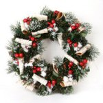 "16"" Small New Holiday Wreath"