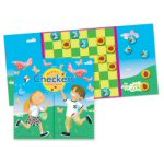 Magnetic Bug Checkers Travel Game