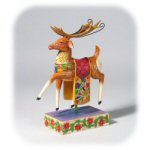 "8.25"" Jim Shore Heartwood Creek Reindeer Figurine"