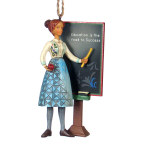 Jim Shore Teacher Ornament - 5""