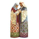 "10.25""Blessed Family Nativity Figurine - Jim Shore"