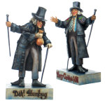 Jim Shore Two-Sided Scrooge Figurine - 8""