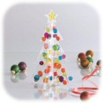 "7"" Gel Gems Decorating Christmas Tree"