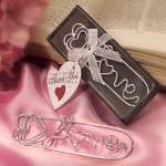 "4"" LOVE Bookmark Favor in Deluxe Box"