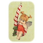 "4"" Kitchen Fairy Candy Cane Hanging Ornament"