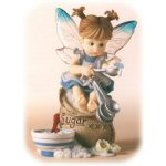 Kitchen Fairy Sitting on a Sugar Bag