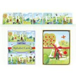 All Around the Land Alphabet Cards Wall Art