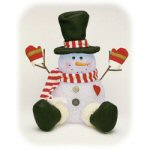 "12"" LED Color Morphing Frosty the Snowman"