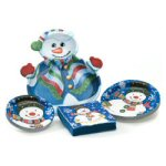 Majestic Snowman Party to Go Set - 101 Pieces