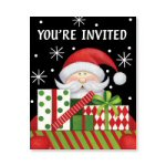 Midnight Merriment Invitations - pkg. of 8