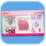12pc Barbie Miniature Ornament Set