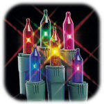 Multicolored Miniature Lights - String of 50