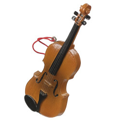 Violin Christmas Tree Ornament