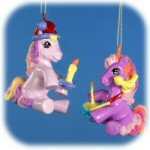 "3.5"" My Little Pony Ornaments - set of 2"